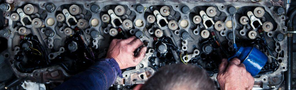 Truck Trailer Vrachtwagen Reparatie Onderhoud