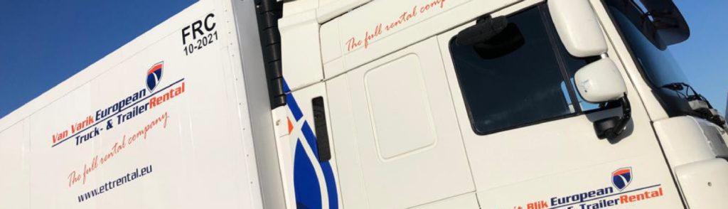 ettrental huren trekker trailer verhuurbedrijf vrachtwagens